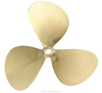 High quality three-blade Marine Fixed Pitch Bronze Propeller with attractive price