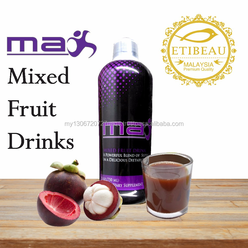 Antioxidant Max Mixed Fruit contained Mangosteen Maqui berry and Goji Berry