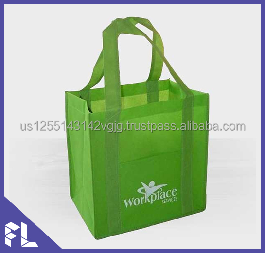 Wholesale Custom Promotional Reusable and Foldable Laminated Tote Recyclable PP Non Woven