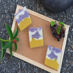 Handmade Soap Make From grape seed and white clay filler