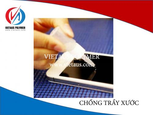 Anti-scratch for PET film with high quality and resonable price from Vietaus Polymer in Vietnam