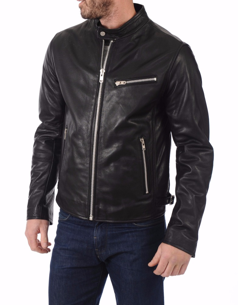 Wholesale Manufacturer Price Custom Motorcycle Leather Jacket men
