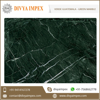 Indian Emerald Green Marble Custom Verde Guatemala Green Marble at Factory Price