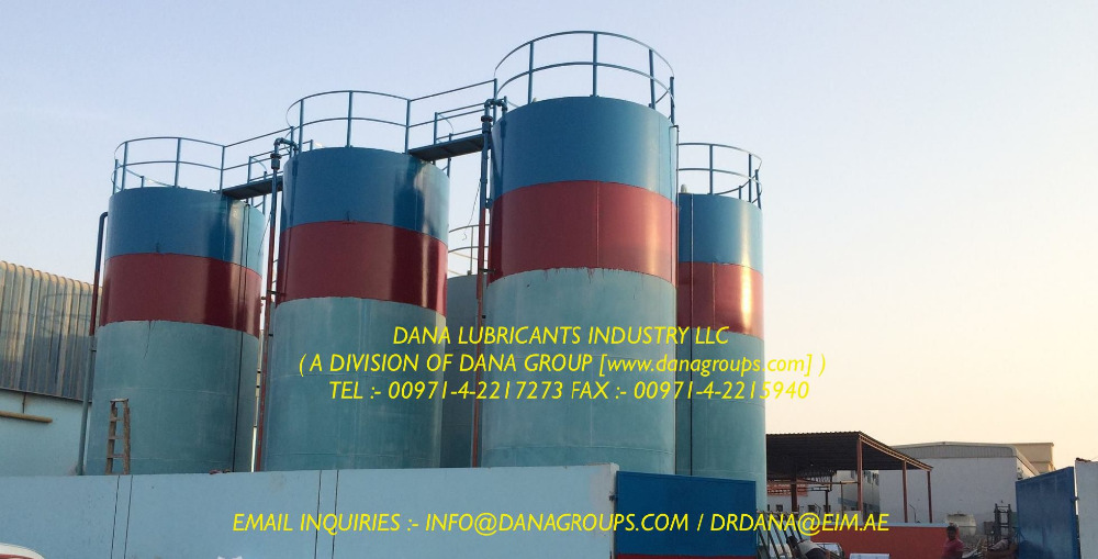LUBRICANTS SUPPLIER SAUDI ARABIA