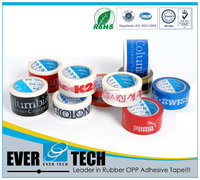 BEST QUALITY PRINTED Solvent Rubber OPP Adhesive Tape MAKES YOUR BRAND EXCLUSIVE!!!