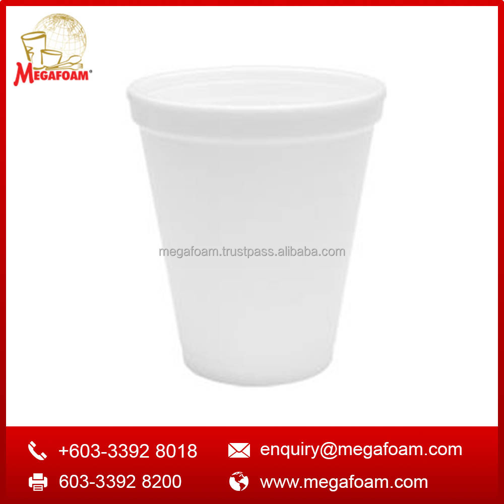6oz quality Malaysia disposable foam drinking coffee cup