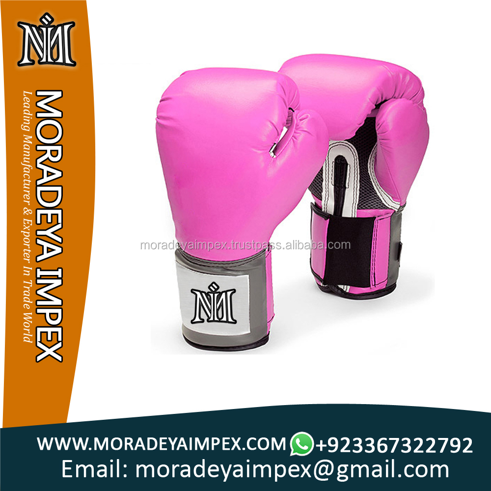 PU Leather Boxing Punching Karate Fighting Gloves