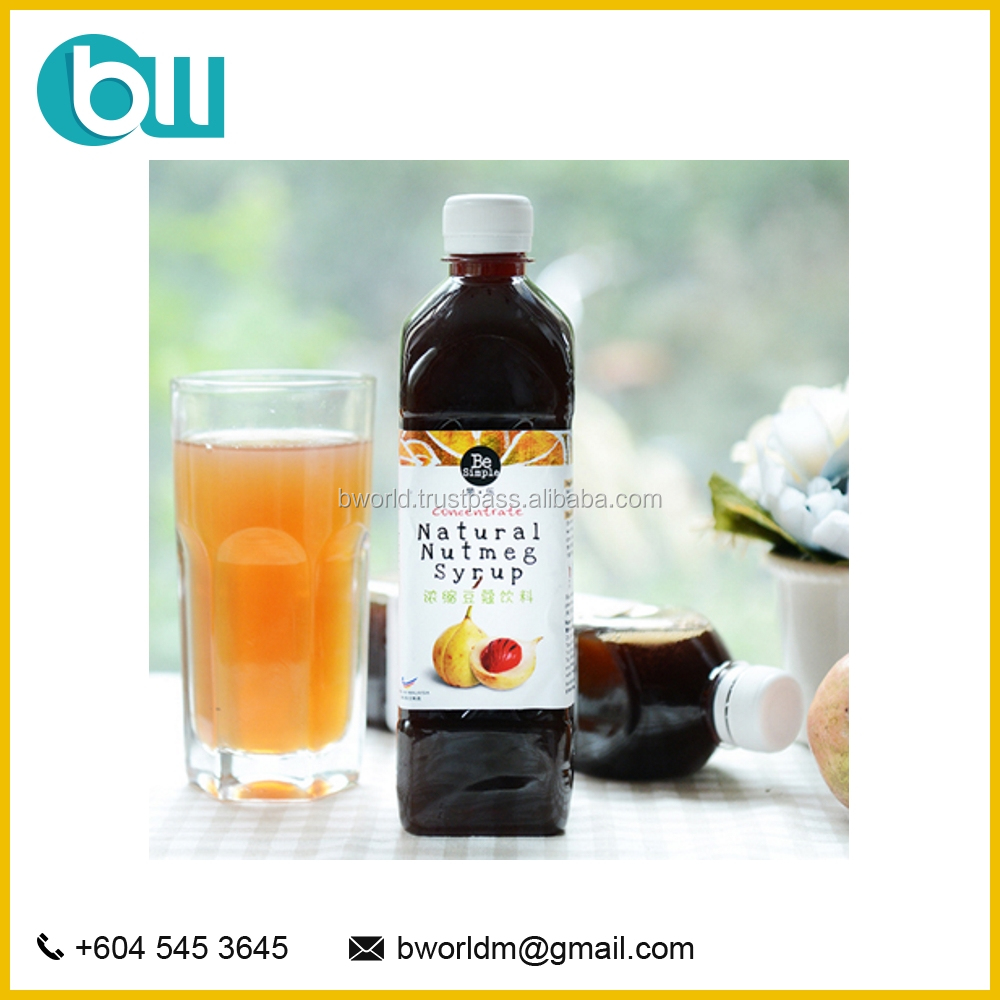 Concentrated Natural Nutmeg Syrup With Honey