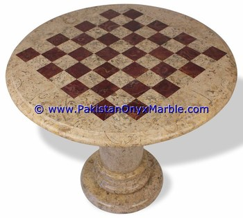 custom design marble tables modern chess table coffee natural stone chess figures
