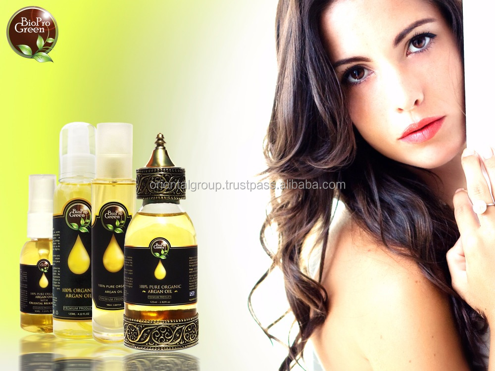 Extra virgin Organic Moroccan cosmetic argan oil