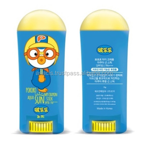 Pororo Kids Sun Cream Sun Block Stick Type SPF50+ PA+++ for Children Outdoor Activities Kids Skin Care Korean Cosmetics