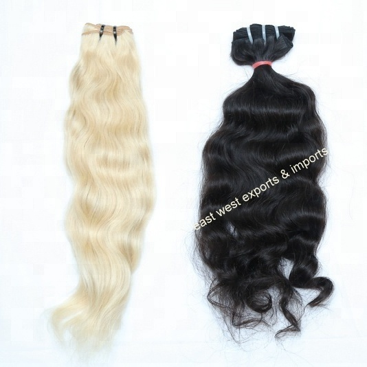 Original Cuticle Aligned human hair weave,wholesale virgin cuticle aligned hair,Indian body wave hair