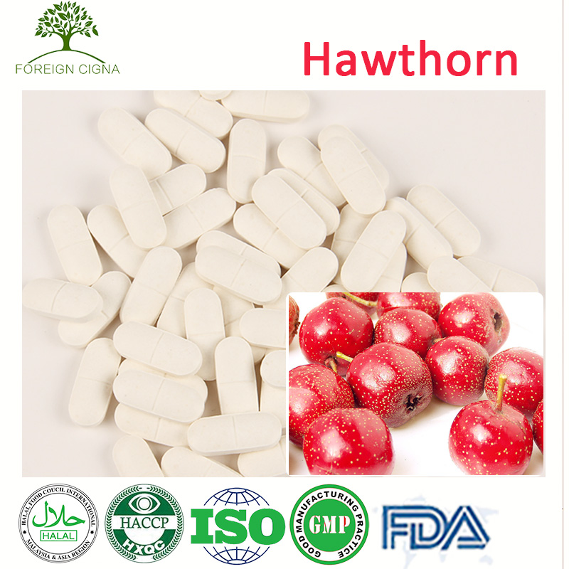 Happy Slim Weight Loss Natural Hawthorn Fruit Extract Pills Tablet