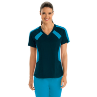 Grey's Anatomy Active Stretch Color Block Top cherokee uniforms medical scrubs medical uniform companies