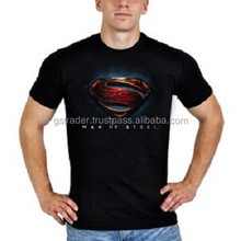 Super black t-shirt with logo tshirt Custom Oem Fashion Polyester Xxxl Sweat Absorbing T Shirt