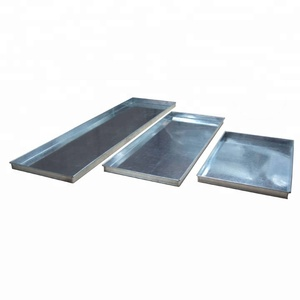 Custom different sizes of rectangular metal service tray decorative for waiters`