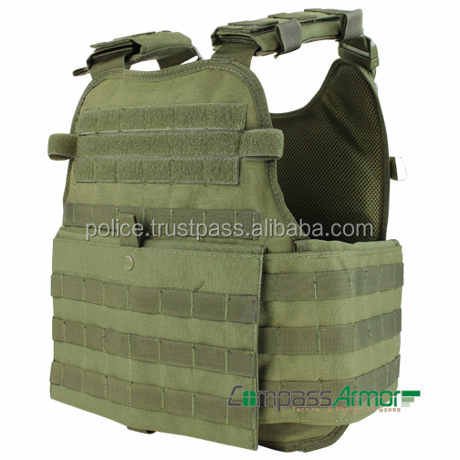 Modular Operator Plate Carrier designed for modular attachments on all sides as well as for functionality