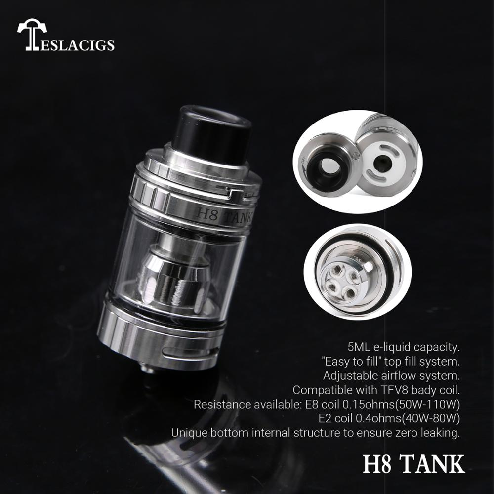 New products in market Teslacigs WYE-200W box mod with vape tank edition atomizer