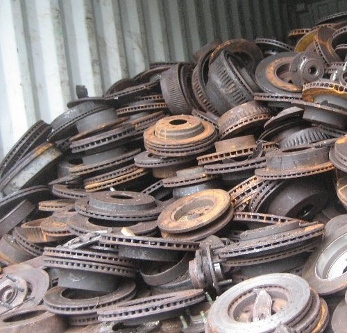 Cast Iron Scraps Ready to Export..