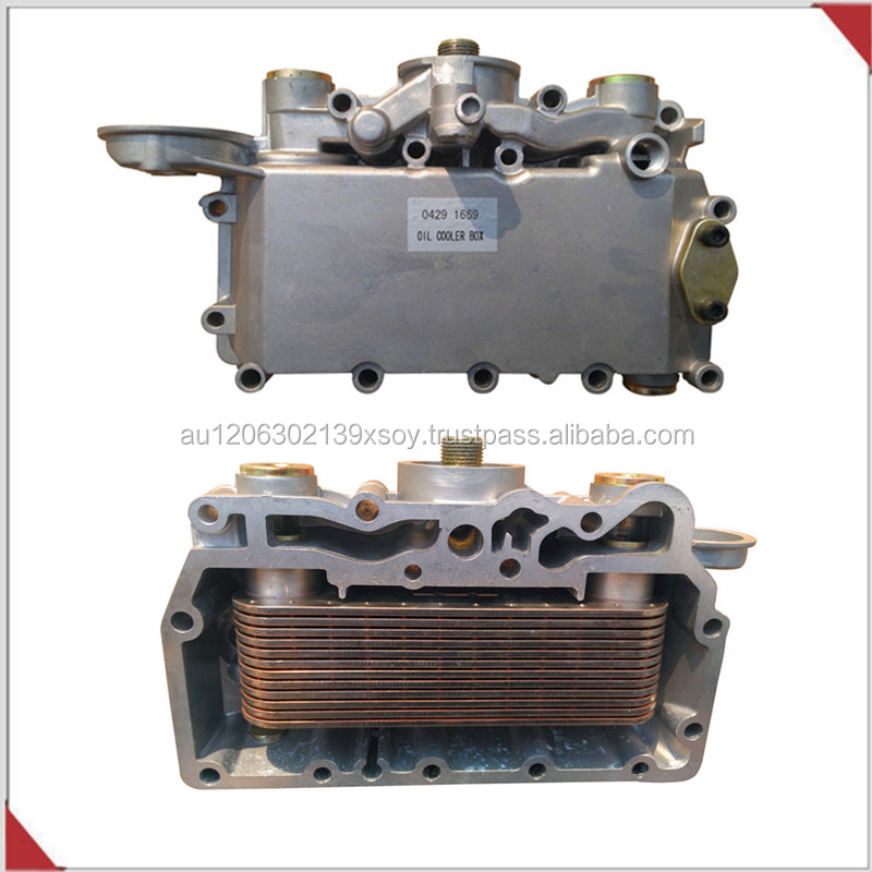 Oil Cooler Box 04291669 for Deutz Diesel Engine