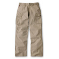 100% Cotton pants / No tucked work cargo pants (Autumn and Winter) made by Japan