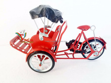 Vietnamese Traditional Transportation model - Tricycle Pedicab Miniature model