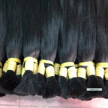 Factory Supply 100% Cheap Remy Grey Human Vietnamese Hair made from Super Double Drawn