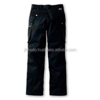 Exothermic cargo pants ( flat front ). Workwear made by Japan