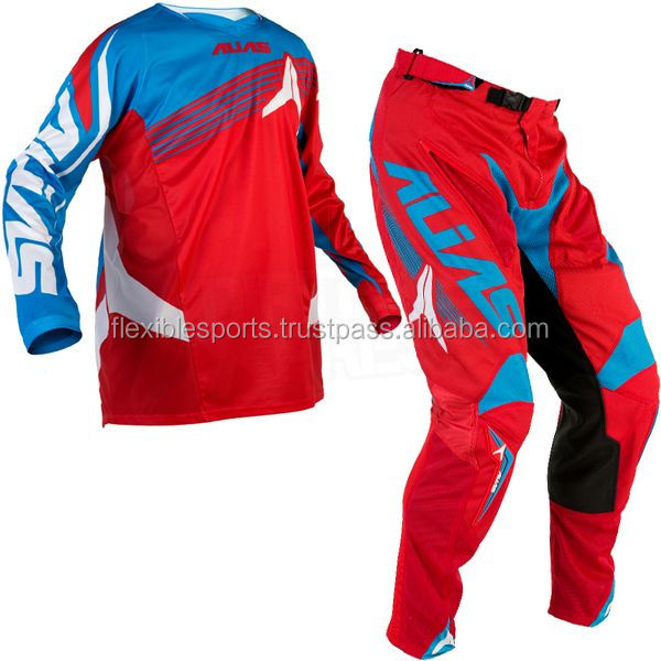 NEW 2017 Custom Mx Jersey Pants Motocross Dirt Bike Gear Set-Jersy Off-Road Sublimated Mx