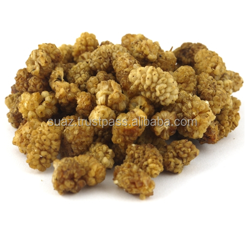 White Mulberry Fruit, certified organic, sweet chewy dry mulberries, dried White Mulberries