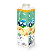 Wholesaler milk drink 600ml cashew milk with vanilla flavor