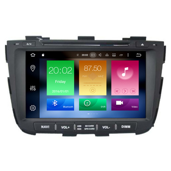 Hifimax Android 8.0 Car Video Audio System For KIA Sorento 2013 Touch Screen Radio DVD Player GPS Navigation Bluetooth Wifi