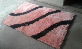 latest design multicolor and style designer polyester rug