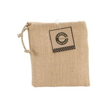 Natural Jute Drawstring Bag/ Jute Jewelry Pouch