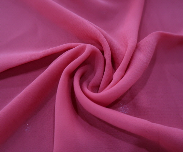 Various types of chiffon fabric polyester textile made in Korea