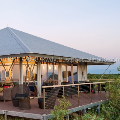 Eco structures tent resort tent glamping with wall Panels