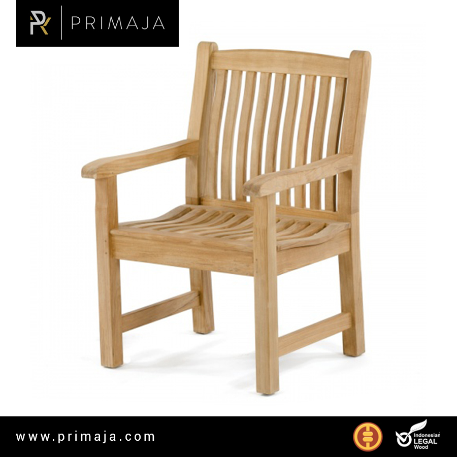 jepara teak armchair furniture indonesia