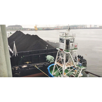 Palm Kernel Shell (PKS) Loaded in Barge