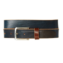 Handmade personalized real leather belts mens