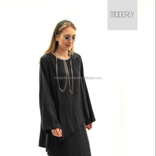Casual Dress for Women Navy Blue Long /Long Sleeve New Winter Fashion Design Style OEM/ODM