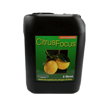 5 litre Growth Technology Citrus Focus (Liquid Compound Fertilizer with Seaweed, Humic & Fulvic Acid)