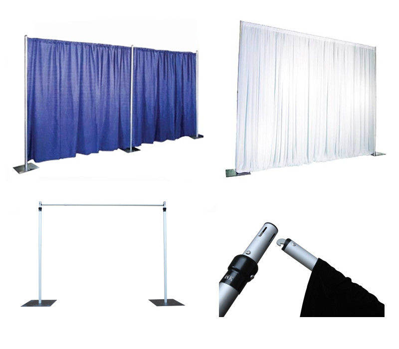 Photo Booth Enclosure Wholesale Portable Trade Show Pipe And Drape