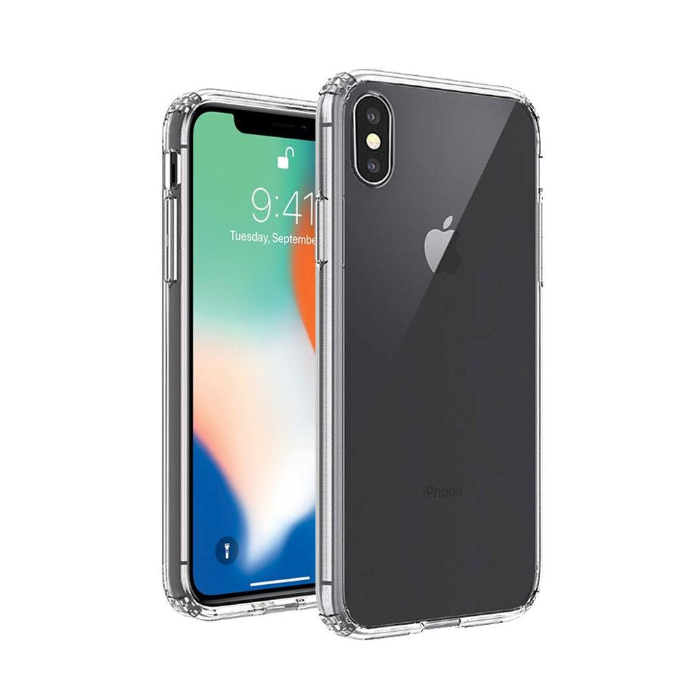 Hybrid Clear Shockproof Mobile Phone Case for iPhone Xs Xr Xs <strong>Max</strong>