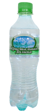 Natural ecologically pure spring mineral water still