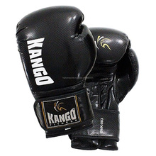PU Leather Training Custom Print Boxing Gloves