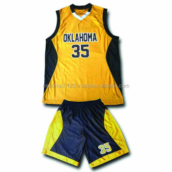 Top quality basketball uniform