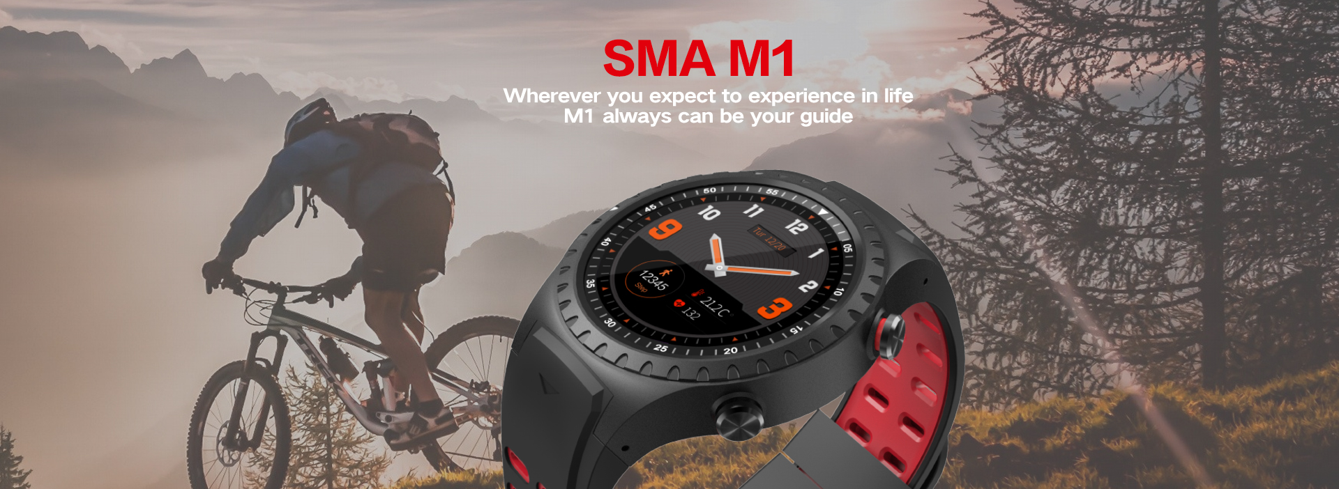 Heart rate monitor GPS sport watch with 9 axis sensor music-motion and IP68 waterproof