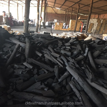 Black Hardwood charcoal 100% NATURE FROM VIETNAM