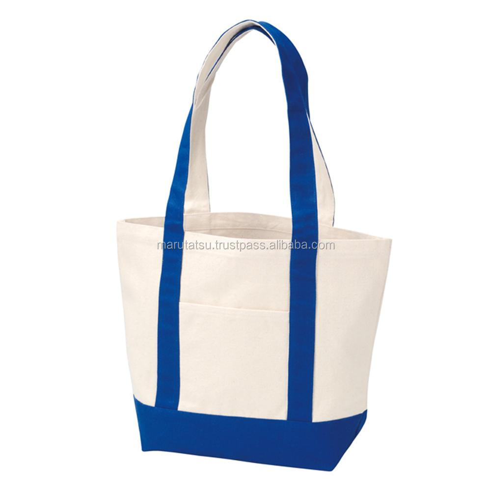 Durable and Easy to use cloth shopping bag Canvas by color tote M at reasonable prices , small lot order available