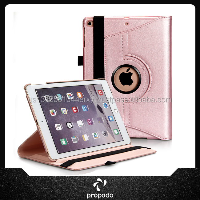 High Quality Protective Shell Folding Leather Case Cover For Ipad Air